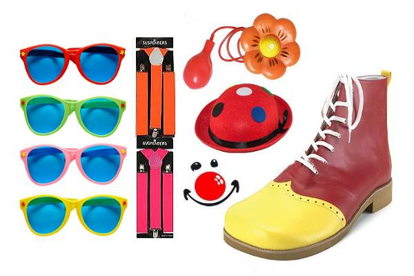 Accessoires de clown