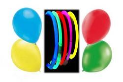 Ballons et lumineux