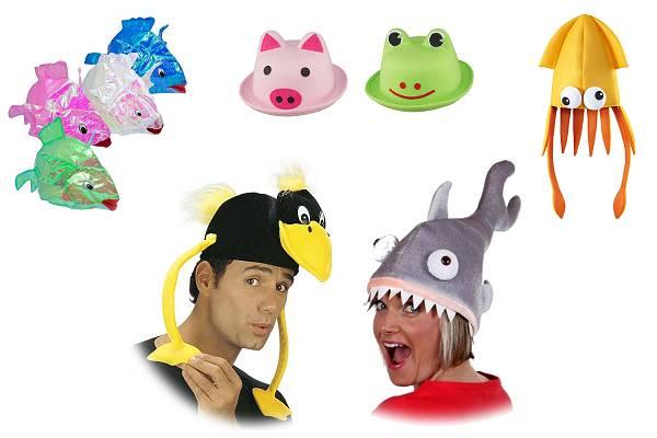 Chapeaux animaux