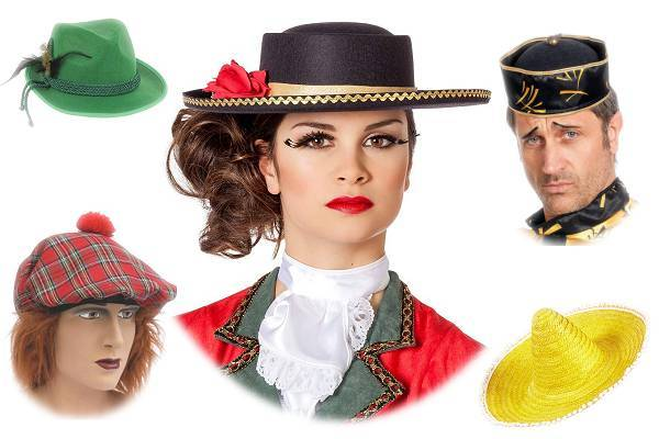 Chapeaux du monde