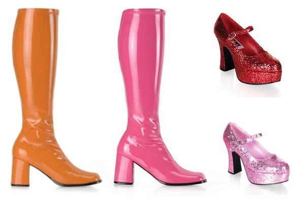 Chaussures disco femme