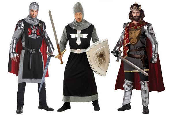 Costume chevalier moyen âge