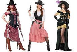 Costume cowgirl adulte