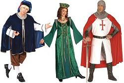 Costume époque Renaissance pour adulte