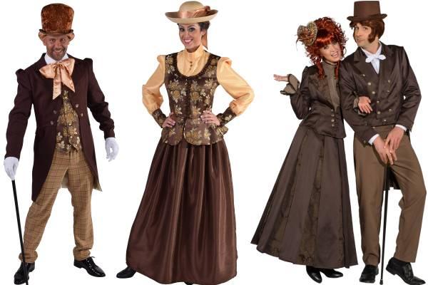 Costume époque victorienne