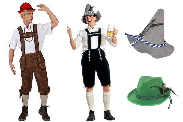 Costume tyrolien homme