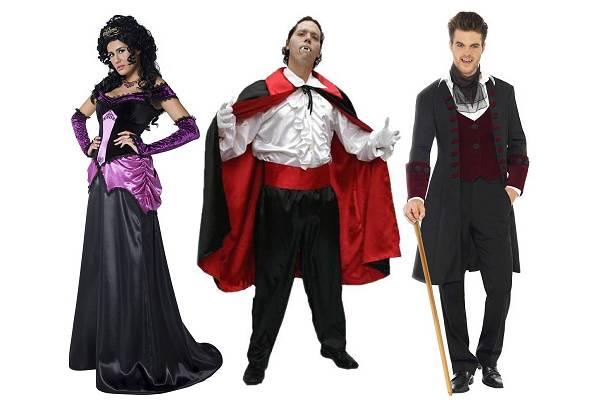 Costume de vampire