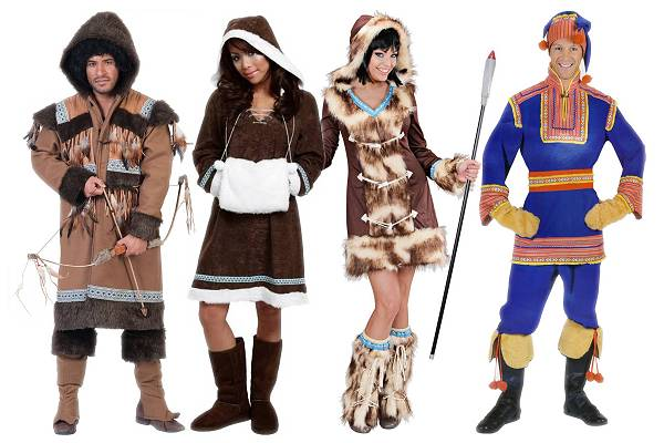 Costumes d'esquimaux