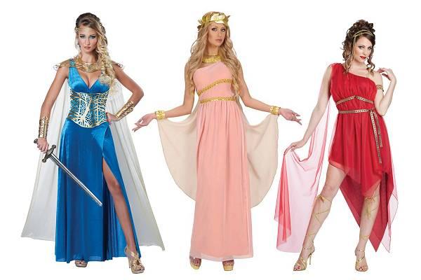 Costumes déesses grecques
