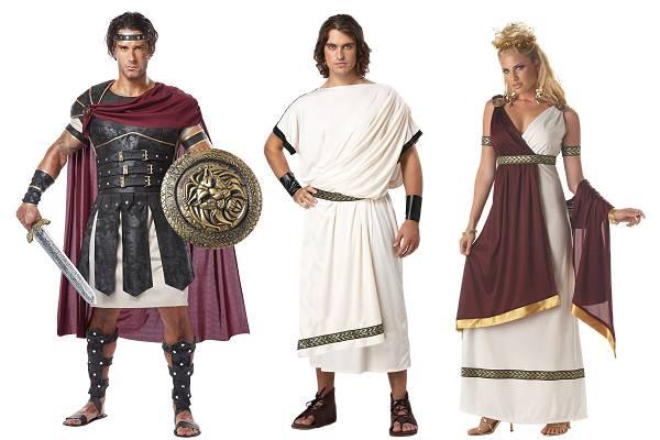 Romaine Antiguo Mujer Romano Traje Traje Vestido m0vn8NwO