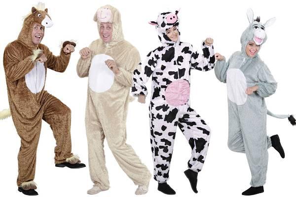 Déguisements animaux de la ferme adulte