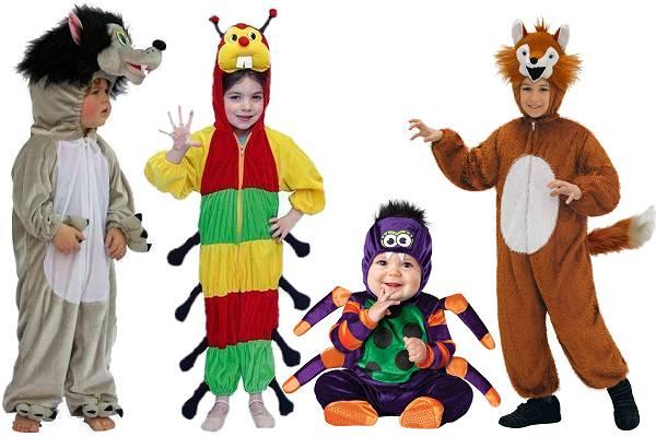 Costumes animaux de la forêt enfant