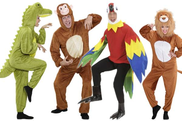 Costumes animaux de la jungle adulte