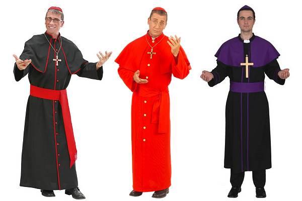 Déguisement de cardinal