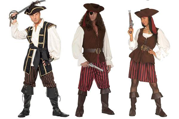 Déguisement de pirate pour homme