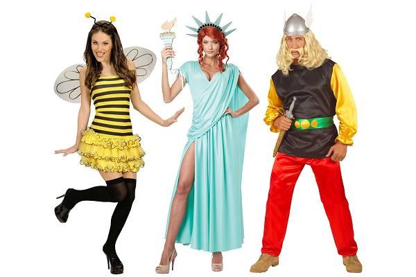 Costumes de carnaval adultes 3 dguisement thmes - Deguisement en o ...