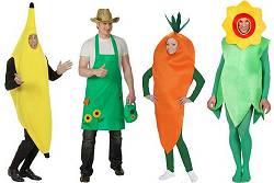 Déguisements fruits et légumes