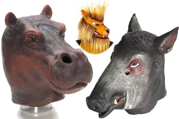 Masque animaux sauvages