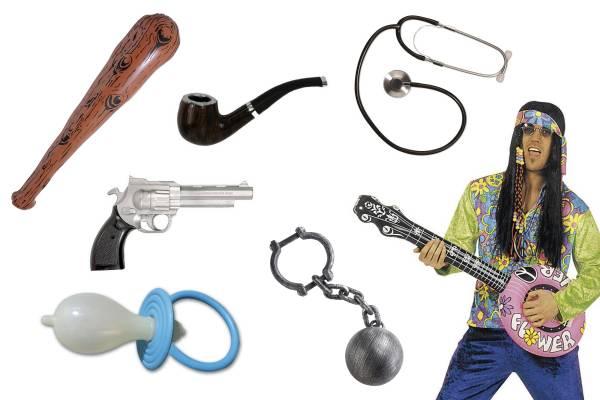 Accessoires pour déguisement divers