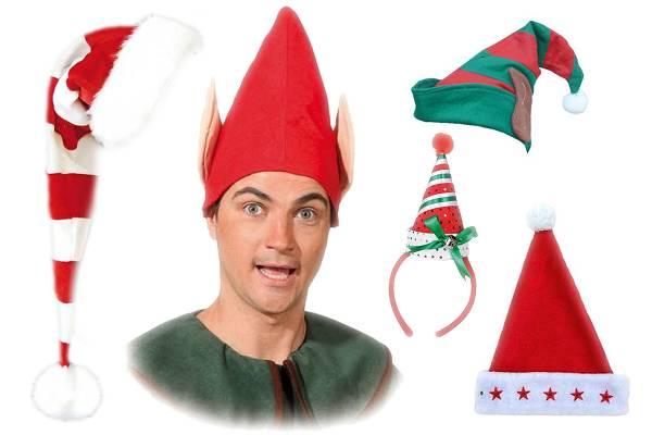 Bonnets de Noël et bonnets de lutins