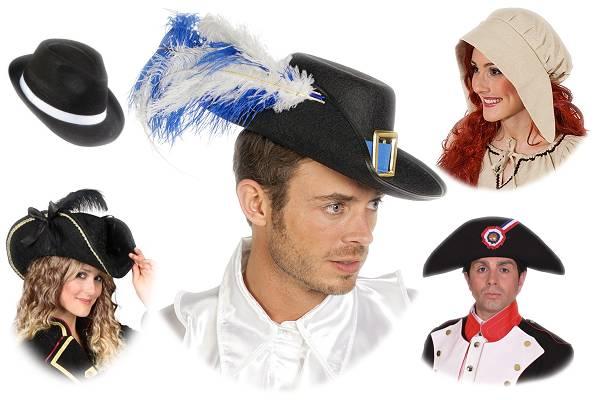 Chapeaux d'époque