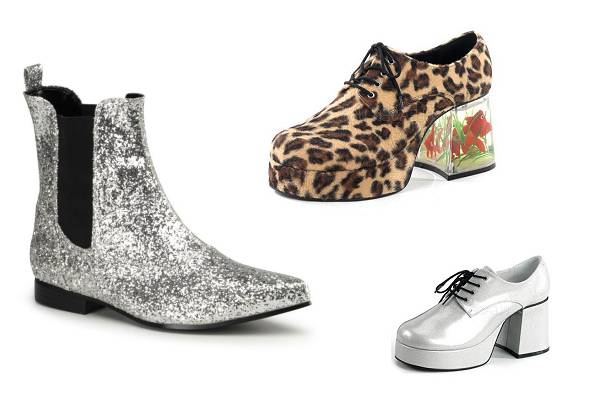 Chaussures disco homme