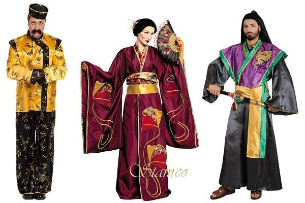 Costume asiatique