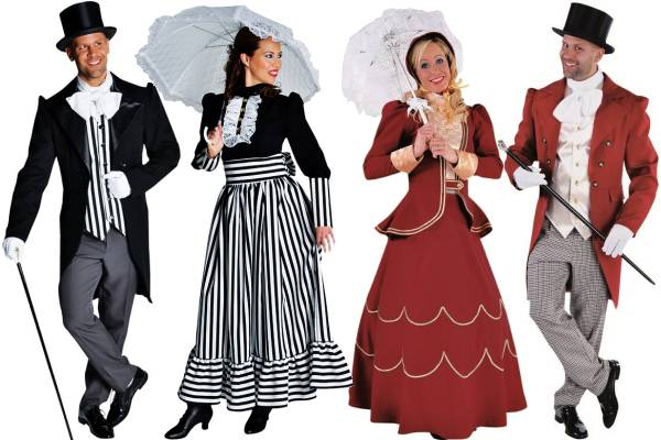 Costume Belle Epoque