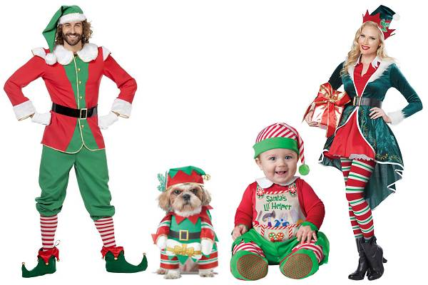 Costume de lutin de Noël