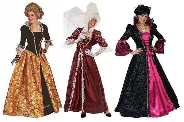 Costume de marquise