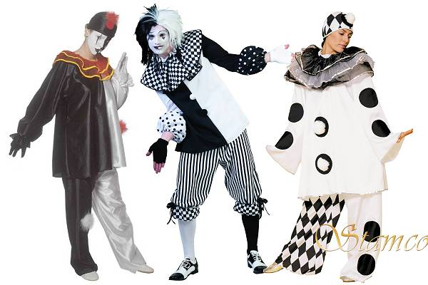 Costume de Pierrot adulte