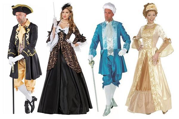 Costume époque Louis 14