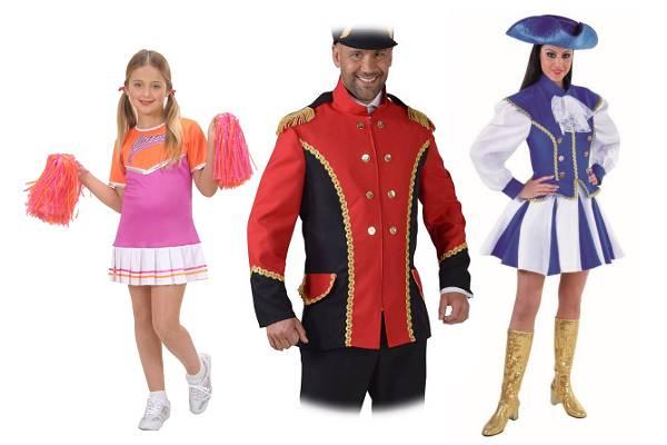 Costume et accessoires majorette et pom-pom girl