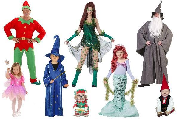 Costume féerique