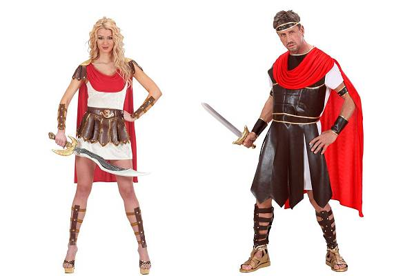 Costume gladiateur-gladiatrice