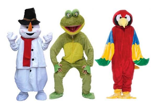 Costume mascotte