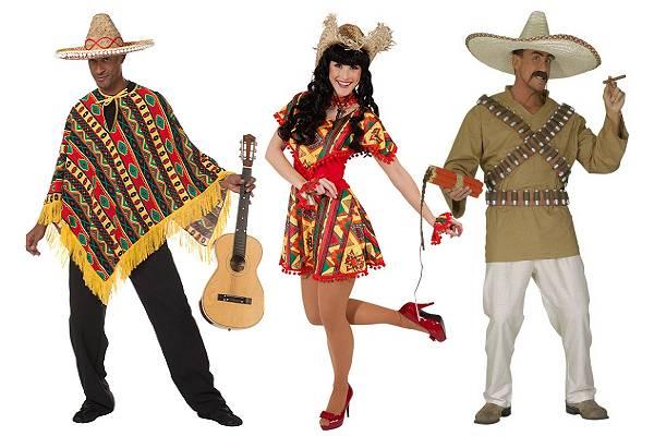 Costume Mexique