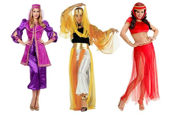 Costume oriental femme
