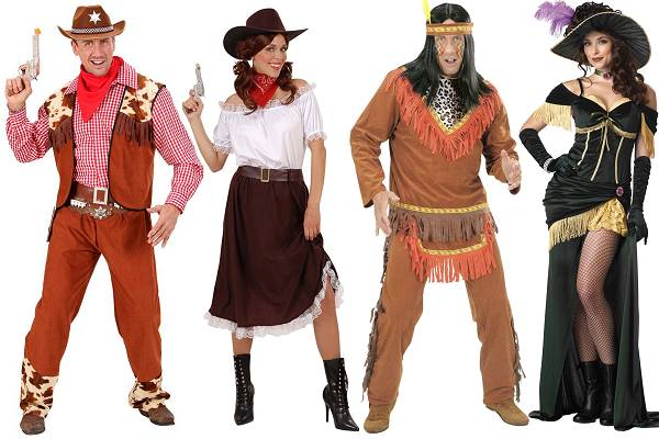 Costumes Western adulte