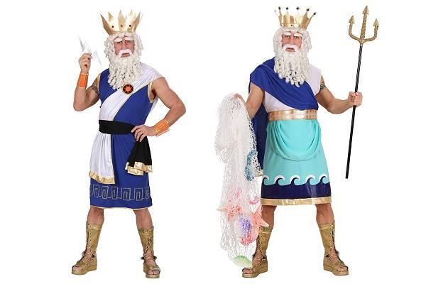 Costumes dieux grecs