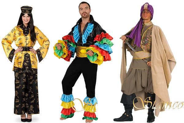Costumes du monde adulte