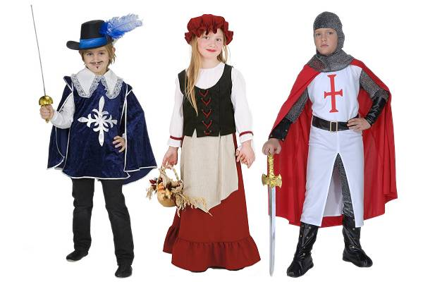 Costumes Epoque enfant