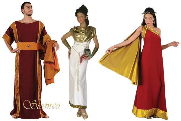 Costumes Grece antique