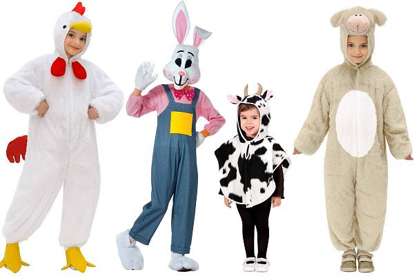 Déguisements animaux de la ferme enfant