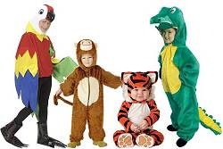 Costumes animaux de la jungle enfant