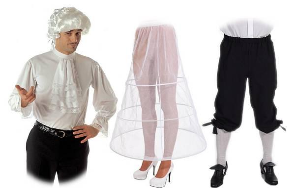 Déguisement époque - complément vestimentaire