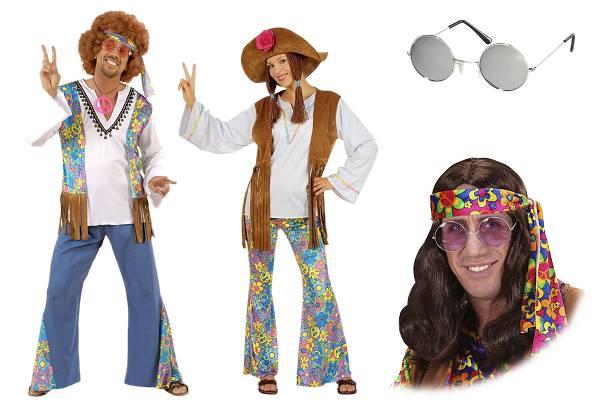 Déguisement de hippie