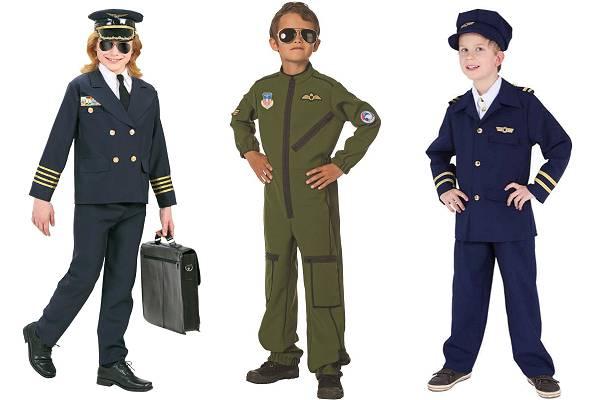 Déguisement pilote garçon