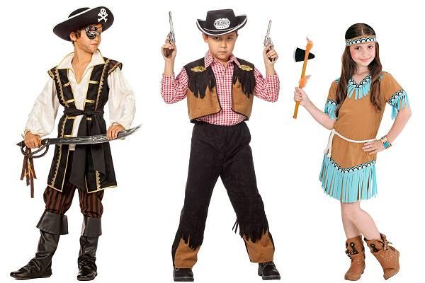 Déguisement pirate et western enfant