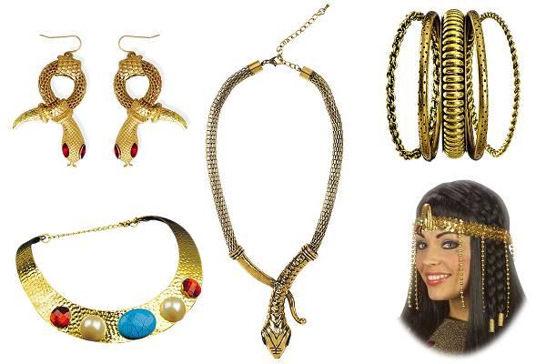 Bijoux egyptiens déguisement